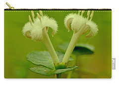 Carry-all Pouch featuring the photograph Fuzzy Blooms by JD Grimes