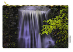 Carry-all Pouch featuring the photograph Garden Falls by Lynne Jenkins