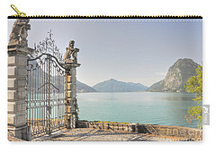 Gate On The Lake Front Carry-all Pouch