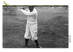 Carry-all Pouch featuring the photograph Gene Sarazen - Professional Golfer by International  Images