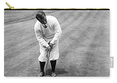 Carry-all Pouch featuring the photograph Gene Sarazen Playing Golf by International  Images