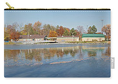 Carry-all Pouch featuring the photograph Genesee River Panorama by William Norton