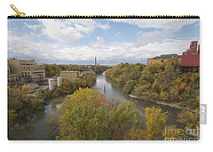 Carry-all Pouch featuring the photograph Genesee River by William Norton