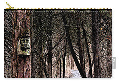Gently Into The Forest My Friend Carry-all Pouch