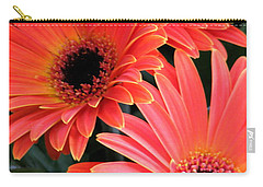 Carry-all Pouch featuring the photograph Gerbera Bliss by Rory Sagner