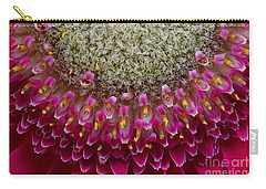 Gerbera Macro Carry-all Pouch by Jim and Emily Bush