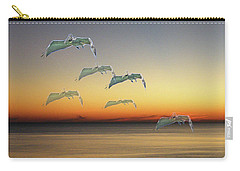 Carry-all Pouch featuring the photograph Ghost Flight by Lizi Beard-Ward