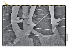 Carry-all Pouch featuring the digital art Ghost Walkers by Victoria Harrington