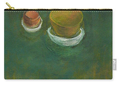 Carry-all Pouch featuring the painting Ginger Pot by Kathleen Grace