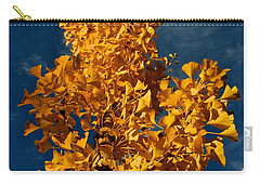 Gingko To The Sky Carry-all Pouch