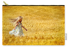 Girl With The Golden Locks Carry-all Pouch