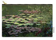 Giverny Lily Pads Carry-all Pouch