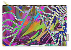 Carry-all Pouch featuring the mixed media Giza by Kevin Caudill