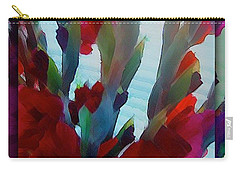 Carry-all Pouch featuring the digital art Glad by Richard Laeton