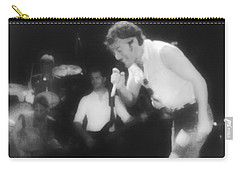 Glory Days - Bruce Springsteen Carry-all Pouch by Bill Cannon