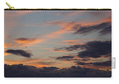 Carry-all Pouch featuring the photograph God's Evening Painting by Bonfire Photography