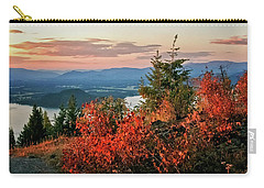 Carry-all Pouch featuring the photograph Gold Hill Sunset by Albert Seger