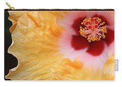 Golden And Crimson Hibiscus Carry-all Pouch