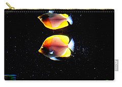 Golden Fish Reflection Carry-all Pouch