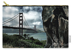 Carry-all Pouch featuring the photograph Golden Gate Bridge - 4 by Mark Madere