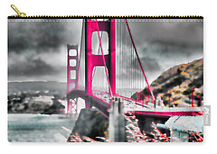 Carry-all Pouch featuring the photograph Golden Gate Bridge - 5 by Mark Madere