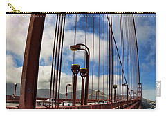 Carry-all Pouch featuring the photograph Golden Gate Bridge - 7 by Mark Madere