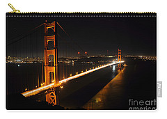 Carry-all Pouch featuring the photograph Golden Gate Bridge 2 by Vivian Christopher