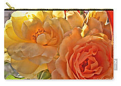 Carry-all Pouch featuring the photograph Golden Light by Debbie Portwood