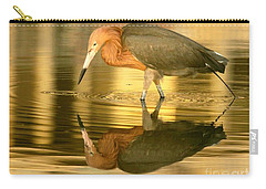 Golden Reflection Carry-all Pouch by Myrna Bradshaw