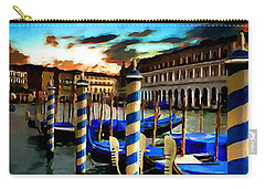Gondolas Under A Summer Sunset Carry-all Pouch