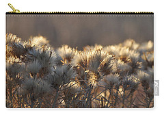 Carry-all Pouch featuring the photograph Gone To Seed by Fran Riley