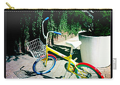Carry-all Pouch featuring the photograph Google Mini Bike by Nina Prommer