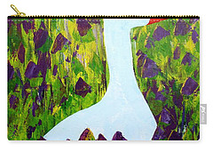 Goose Carry-all Pouch by Barbara Moignard