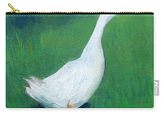 Goose On Green Carry-all Pouch