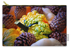 Carry-all Pouch featuring the photograph Gourds 2 by Deniece Platt