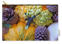 Carry-all Pouch featuring the photograph Gourds 4 by Deniece Platt