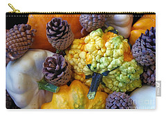 Carry-all Pouch featuring the photograph Gourds 5 by Deniece Platt