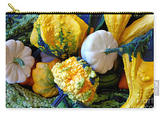Carry-all Pouch featuring the photograph Gourds 8 by Deniece Platt
