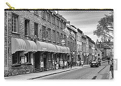 Carry-all Pouch featuring the photograph Grande Allee by Eunice Gibb