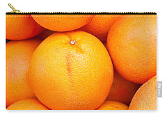 Grapefruit Carry-all Pouch by Tom Gowanlock