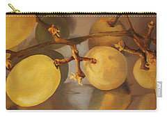Grapes On Foil Carry-all Pouch