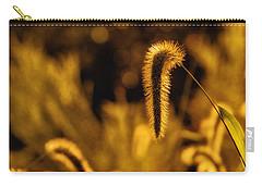 Grass In Golden Light Carry-all Pouch