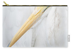 Carry-all Pouch featuring the photograph Great Egret by Doug Herr