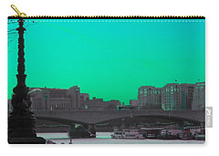Green Day In London Carry-all Pouch by Jasna Buncic