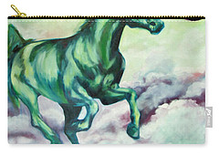 Green Horse Carry-all Pouch