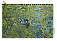 Carry-all Pouch featuring the photograph Green Pool by Joseph Yarbrough
