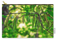 Green Redbud Seed Pods Carry-all Pouch