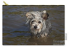 Carry-all Pouch featuring the photograph Gremlin by Jeannette Hunt
