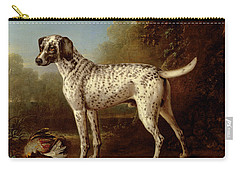 Grey Spotted Hound Carry-all Pouch