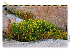 Growing In The Cracks Carry-all Pouch by Brent L Ander